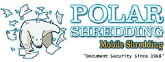 Polar Bear Shredding Paper, Polar Shredding logo