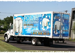 Polar Shredding Mobile Shred Truck